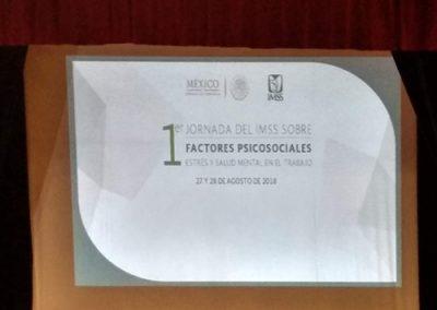 Asistencia 1er Jornada IMSS Factores Psicosociales