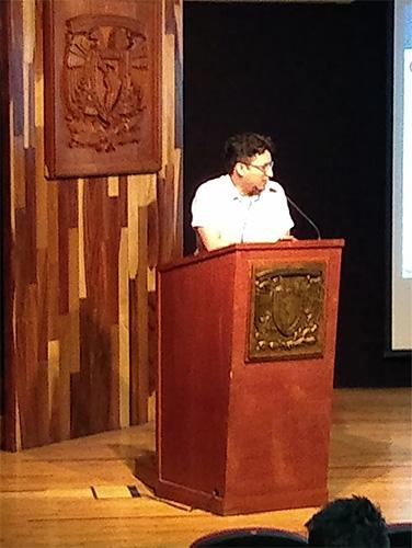 Conferencista Mtro. Carlos Esquivel Lozada