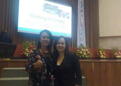 Con la Dra. Marisa Salanova WOPS